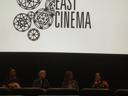 2279102ddd9d NYC Opening Night panel on women directors  Director Amy Adrion   interviewees Mary Harron   Chris Hegedus